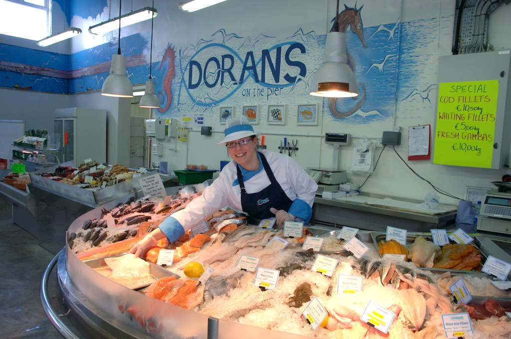 Dorans fish shop howth for Fresh fish store